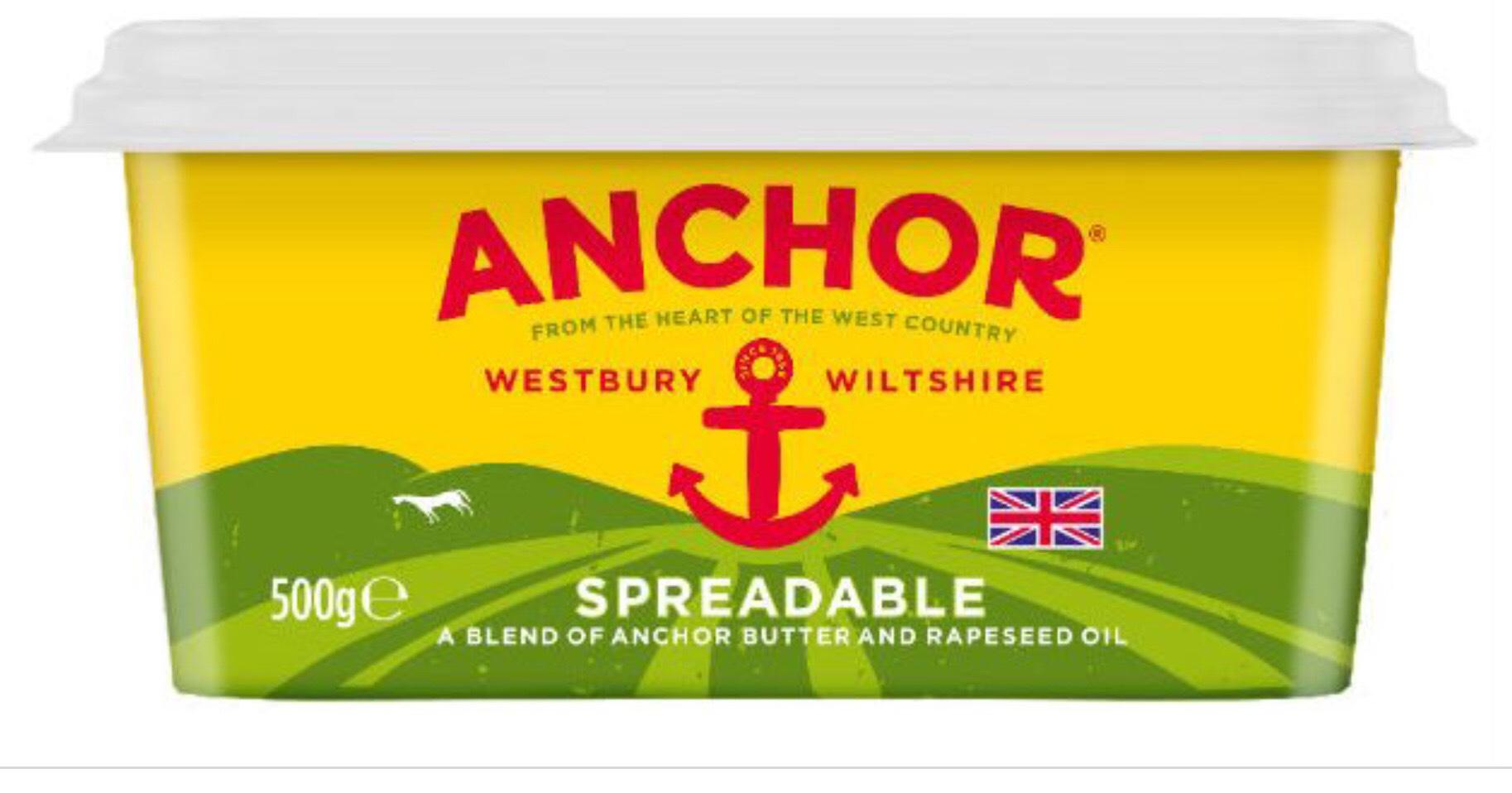 [Rollback] Anchor Spreadable - 500g - £2 at Asda
