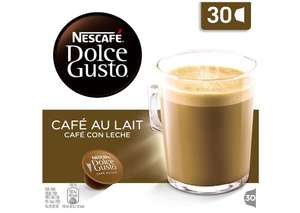 Nescafé Dolce Gusto Café au Lait, Coffee with Milk, Cappuccino, 30 Capsules - £5.80 @ Amazon - Add-on Item