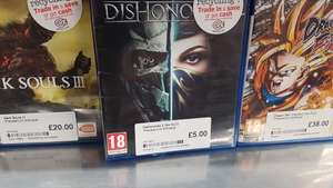 Dishonored 2 PS4 (Pre-owned) £5.00 instore @ CEX (Boston)
