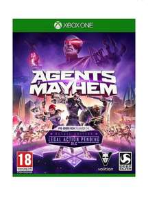 Agents of Mayhem - Day One Edition (Xbox One) New & Sealed £4.95 Delivered @ TheGameCollection/eBay