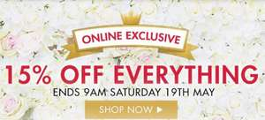 The Perfume Shop 15% Off Everything  - Ends 9am On Saturday 19th May - Online Only