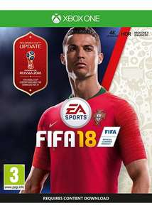 Fifa 18 (Xbox One) £19.85 Delivered @ Base