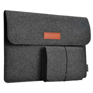 Dodocool 9.7-13.3 Inch Laptop Felt Sleeves from £4.79 - £5.59 Prime / £9.28 - £10.08 Non Prime at Amazon - Sold by HOME-Victory / FBA