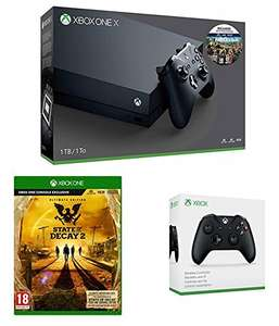Xbox One X 1TB Far Cry 5 + Controller (Black or White) + State of Decay 2 (Ultimate Edition) £449.99 @ Amazon