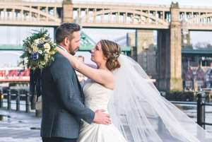 £1995 for a Complete Wedding Package for 40 Daytime / 80 Evening Guests with food, drinks, entertainment, venues + much much more at the Copthorne Hotel, Newcastle via Wowcher