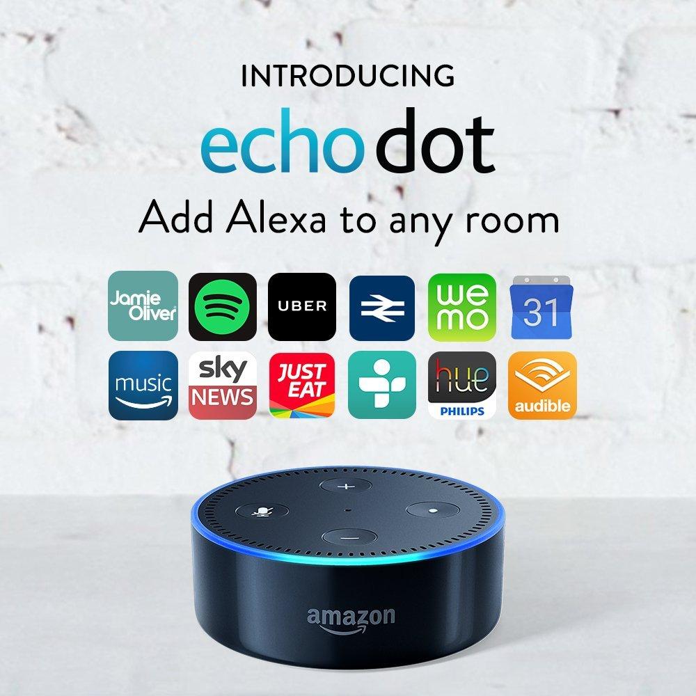 Amazon Echo Dot Certified Refurbished - £34.99 @ Amazon