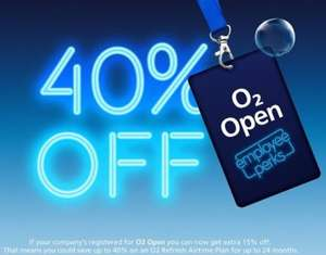 O2 now offer Teachers upto 40% off Mobile Phone bills (also NHS, Armed forces, Police, large MNC / blue chips )