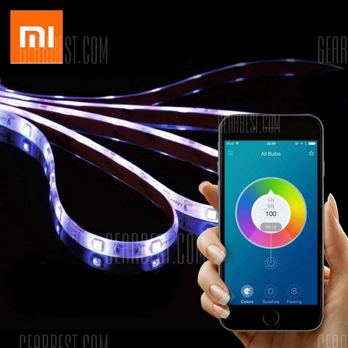 Original Xiaomi Yeelight Smart Wi-Fi Light Strip with IFTTT / Alexa support £21 @ Gearbest