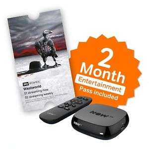 NOW TV BOX + 2 Month Entertainment Pass £10 / + 1 Month Cinema Pass £10 / + 3 Month Kids Pass £13.85 (+ SKY STORE voucher worth £5.49) Delivered @ Boss_Deals/eBay