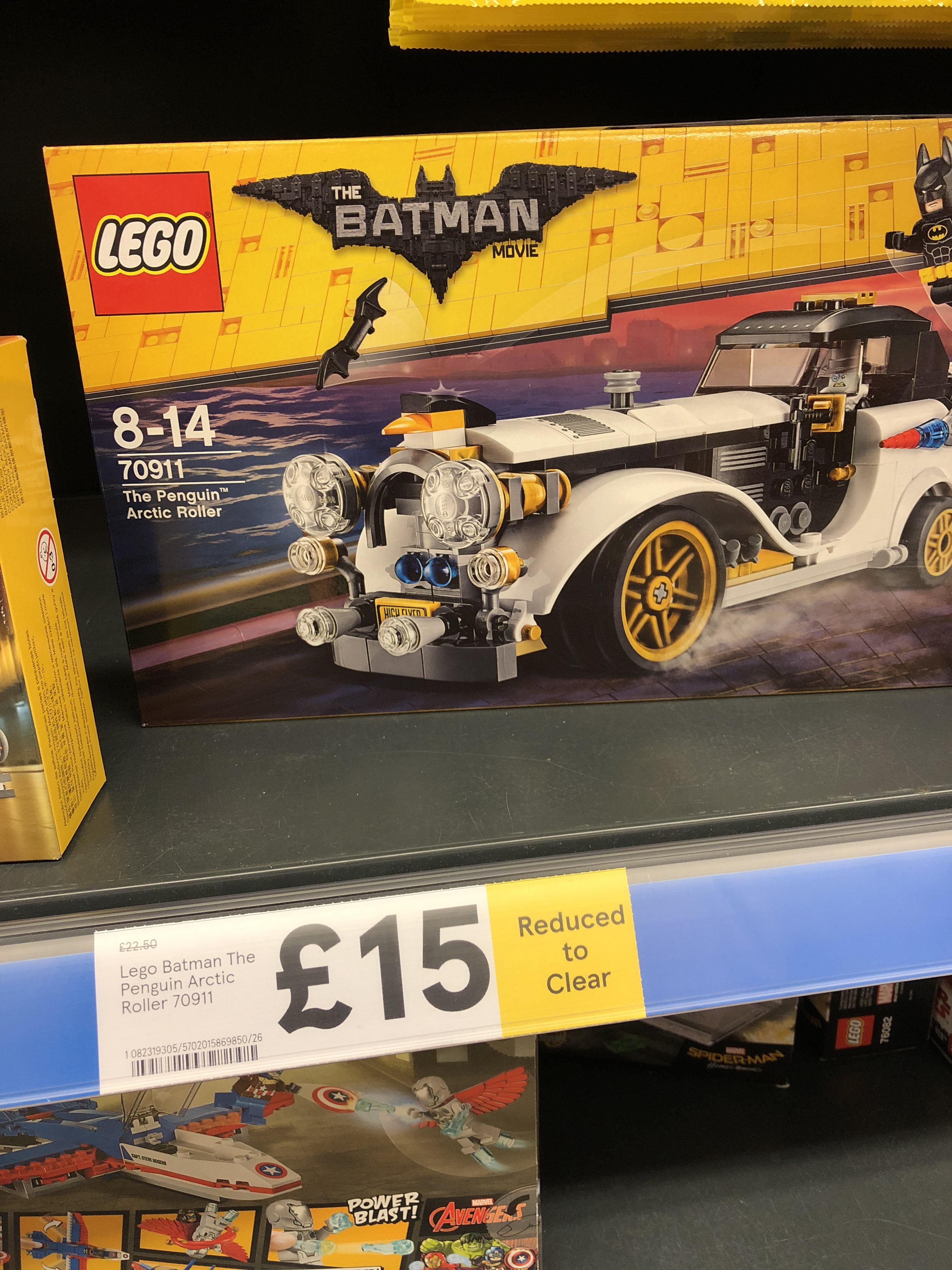 Batman Lego 70911  Penguin's Arctic Roller £15 Tesco