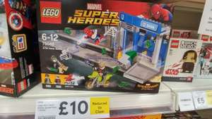 Tesco Extra Lego Spiderman Homecoming ATM Heist 76082 – £10 instore (Bridgend) discount offer