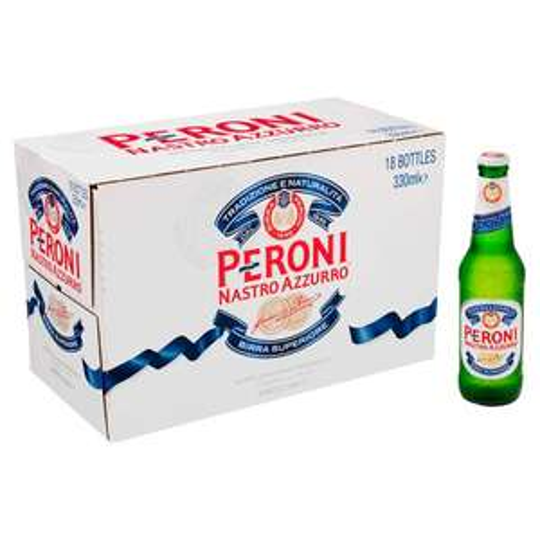 Peroni. 18 X 330ml Bottles £19 at Tesco