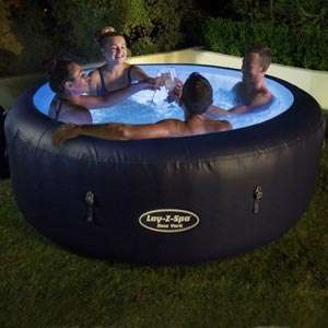 Lay-z-spa Palm Springs hydrojet hot tub spa at Homebase / Bunnings for £449