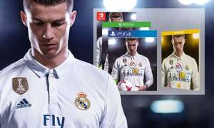 FIFA 18 PS4 & XBOX 1 &  Nintendo switch for £21.99