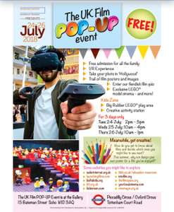 Free Children's event this summer @ Launching Films