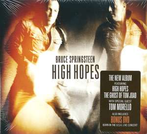 bruce sprinsteen  - high hopes cd + dvd [ amazon uk ] £2.73 prime £4.72 non prime