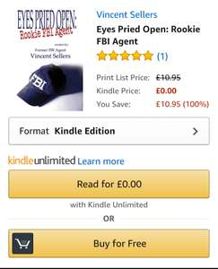 Free Book on the FBI on Amazon Kindle