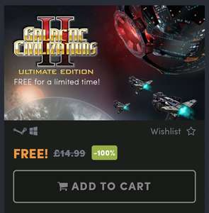 Galactic Civilizations II: Ultimate Edition for FREE