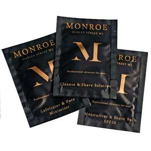 Free Monroe 3 Step Skincare Sample Set