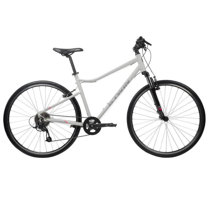 Hybrid Bike - B'TWIN RIVERSIDE 500 HYBRID BIKE - WHITE - £199 @ Decathlon