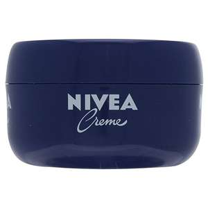 Nivea Creme, 200 ml – Pack of 3, £4.23 at amazon (Prime Exclusive)