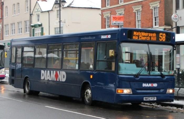 Swift PAYG on Diamond Bus (West Midlands area)