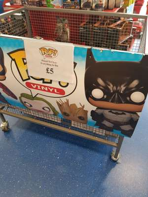 Pop Vinyls £5 at Smyths Farnborough