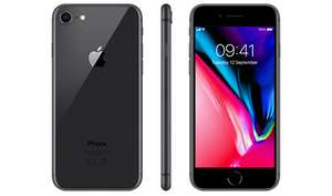 New iPhone 8 64GB + 30GB data (O2 with priority) for £34pm + £75 upfront (£891 total) @ Mobiles.co.uk