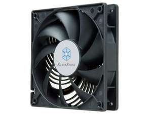 SilverStone SST-AP122 - Air Penetrator Computer Case Cooling Fan 120mm, Low Noise, High Airflow, Low Power, 9-bladed, black - £4.99 & FREE Delivery in the UK on orders over £20 add-on item