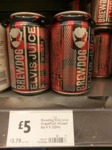 Brewdog Elvis Juice £5 @ Morrisons