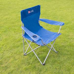 Swiss Military Camping Chair - Various Colours £5 each and Swiss Military Compact Tripod Chair - Various Colours £2.49  @ b+m