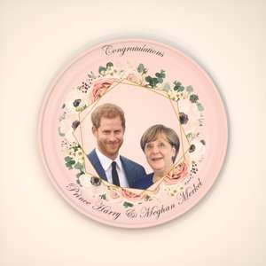 Princess Merkel and Price Harry party ware (with slight printing error) - £500 @ Wholesaleclearance