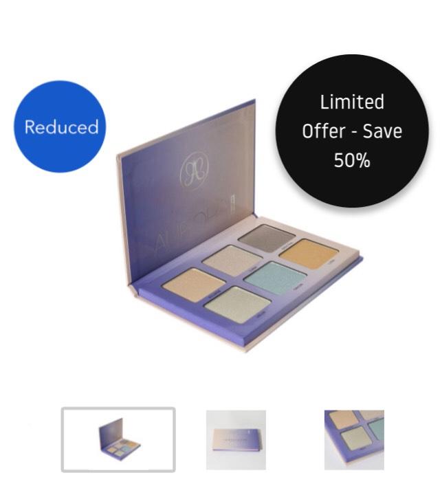 Anastasia Beverly Hills Aurora Glow Kit £20.50 half price at Beauty Bay