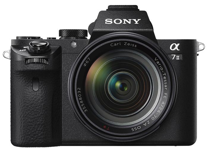Sony a7 II Mirrorless Digital Camera + 24-70mm f/4 Zeiss Vario-Tessar Lens - £1,549 (£1249 after Cashback) @ Clifton Cameras