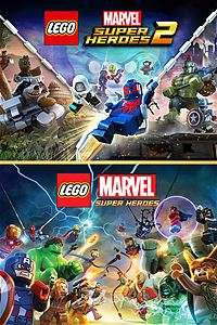 Lego Marvel Superheroes 1 & 2 Bundle - Xbox one Digital download £21.83 @ Turkish Xbox Store