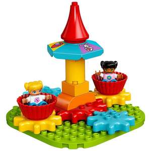 LEGO DUPLO 10845 My First Carousel £10 @ Tesco Direct (Triple ClubCard Points)