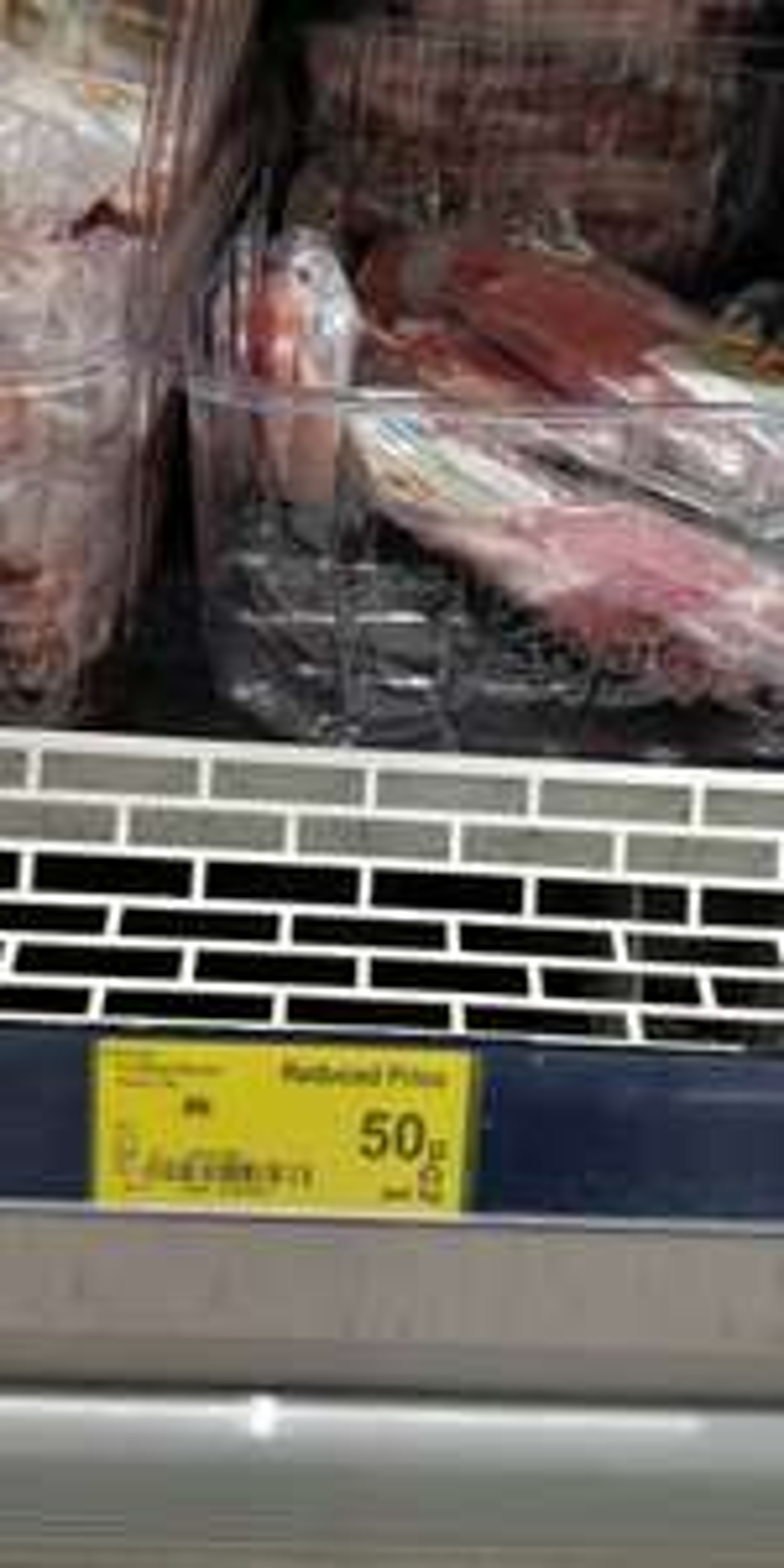 Asda unsmoked back bacon - 50p instore @ Asda (York)