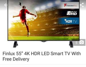 "Finlux 55"" 4K UHD Smart TV £329 - now £309 w/code SUNSTYLE @ Groupon"