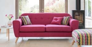 'Sweet' 3 seater sofa £299 @ FABB - numerous colours available