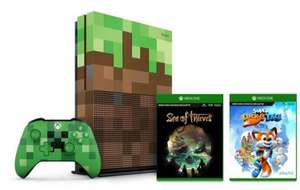 Xbox One S 1TB Minecraft Bundle ​+ Extra Creeper controller + Sea of Thieves  + Super Lucky's Tale - £239.99 @ Microsoft Store