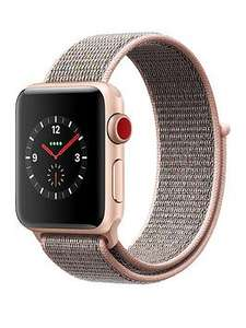 Apple Watch Series 3 (GPS + Cellular), 38mm £312.99 / 42mm £342.99 delivered @ Very