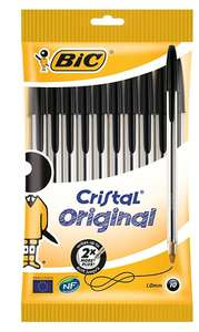 BIC ballpoint pens 10 pack £1.50 Add On Item / Minimum Spend £20 at Amazon