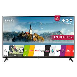 "LG 49UJ630V - 49"" 4K HDR TV with Web OS, Freeview & FreeSat HD - £349 (with code) @ RGB Direct"