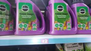 Miracle-Gro Flower Magic all in one flower mix £2 instore at Poundland