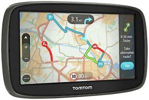 TomTom GO 50 5 Inch Lifetime Maps & Traffic Western Europe - Black - £73.99 @ Argos Ebay