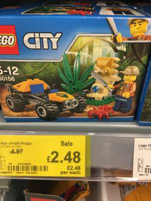 Lego 60156 jungle 1/2 price £2.48 ASDA Cannock