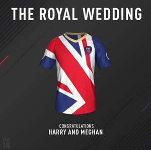 Join in on the Royal Wedding celebrations with this Kit FIFA 18 (UK only)