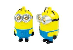 Minion Mini Flashlight Keychain with Sound - Free just pay for Delivery 52p @ zaplas