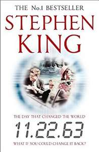 5 Stephen King Books 99p Each on Kindle @ Amazon : 11.22.63, Insomnia, Hearts in Atlantis, Cujo, Lisey's Story