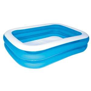 Bestway Rectangular Plastic Family Swimming Pool 2.01 x 1.5 x 0.5M - £14 at B&Q + Free C&C - In store too